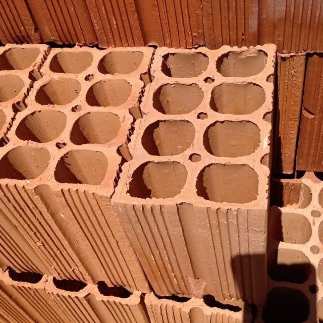 tijolos direto da cerâmica