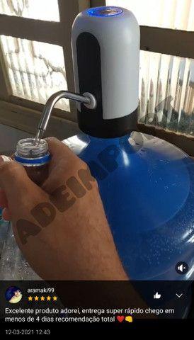 Bomba elétrica recarregável galão de água - Foto 2