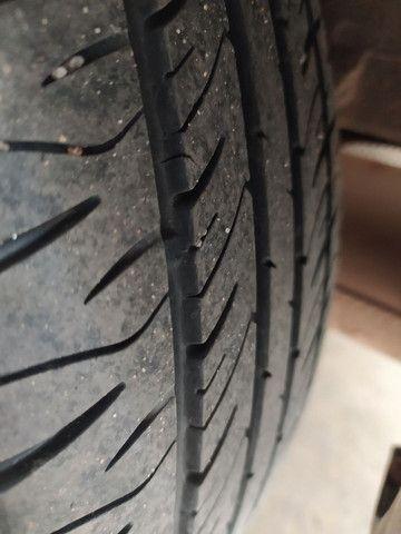 Vendo rodas aro 15 com pneus - Foto 4