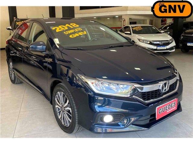 Honda City Lx 1.5 Flex + Gnv Automático 2018!!! Novissimo; - Foto 4