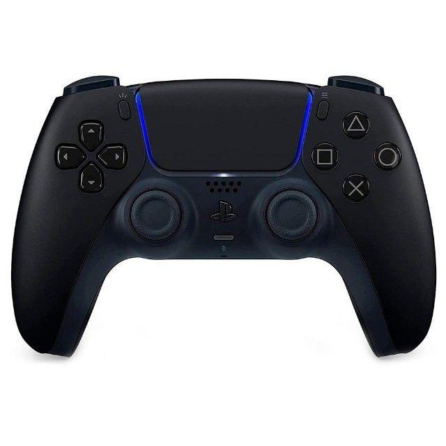 Controle Sem Fio DualSense Midnight Black PS5 ou 12X R$ 41,61