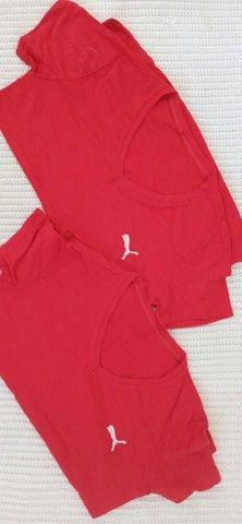 Tshirt  Blusa em Algodao - Foto 4