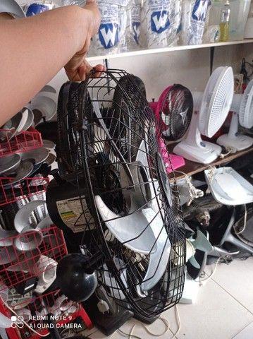 Ventilador tufão parede 60 cm,com motor de cobre  - Foto 2