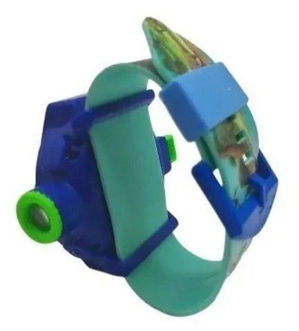 Relógio Infantil Masculino Com Projetor Dinossauro Luminoso - Foto 4