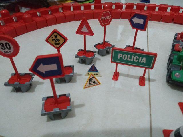Brinquedo Pista Corrida Carrinhos Desmontável - Foto 4