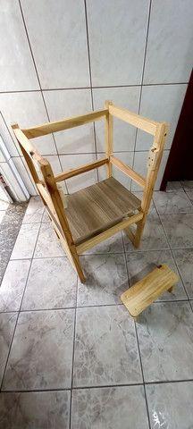 Cadeira torre montessoriana  - Foto 6