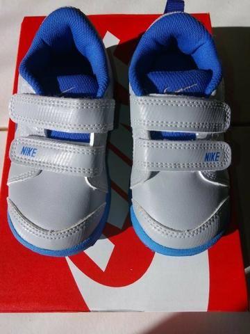 3d64bcce96768 Tênis Nike Infantil com Velcro Pico LT tamanho 21 - Roupas e ...