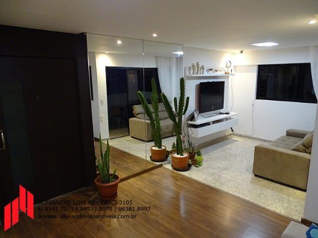 Excelente Apartamento Nascente com 3 Siítes, 3 vagas, 125 m² na Ponta Verde