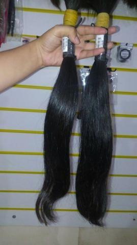 Cabelo 100% humano natural cabelos de excelente qualidade (Cabelo virgem