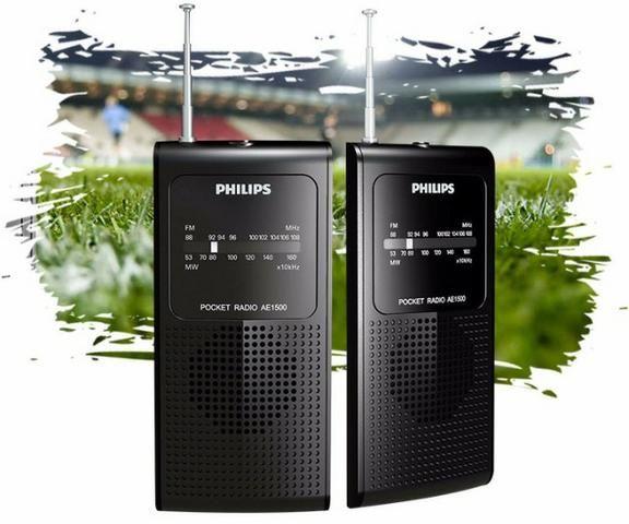 Rádio Portátil Am/Fm Philips Ae1500
