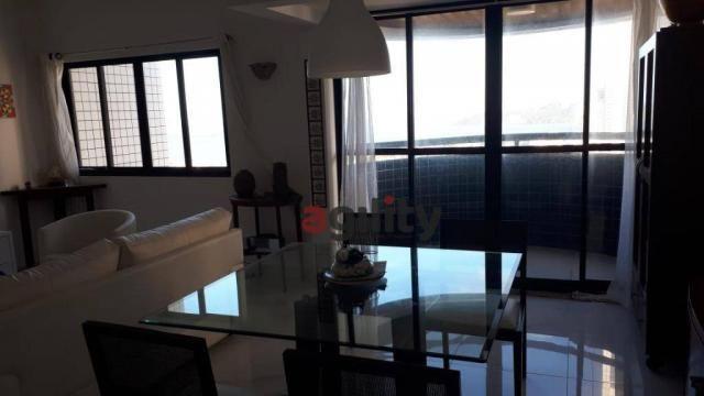 Apartamento com 2 dormitórios à venda, 114 m² por r$ 550.000,00 - capim macio - natal/rn - Foto 6