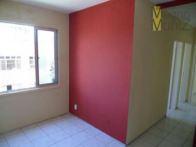 Edifício villagio água fria - apartamento para alugar no edson queiroz, fortaleza - ap0069 - Foto 3