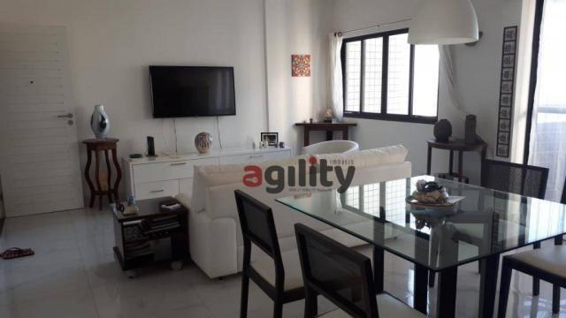 Apartamento com 2 dormitórios à venda, 114 m² por r$ 550.000,00 - capim macio - natal/rn - Foto 2