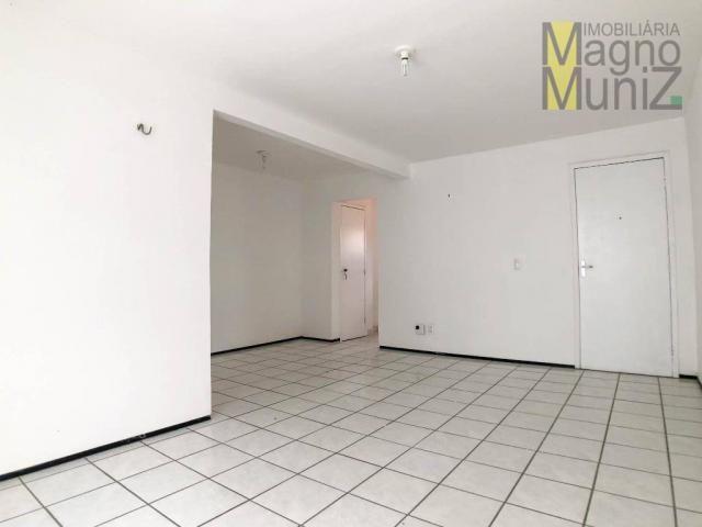 Apartamento com 3 dormitórios para alugar, 80 m² por r$ 1.000,00/mês - varjota - fortaleza - Foto 3