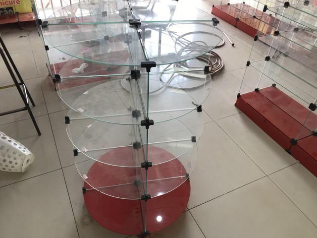 Prateleira de vidro usadas - Foto 3