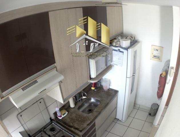Laz - Alugo apartamento com varanda 2Q sendo uma suite condomínio com lazer completo - Foto 4