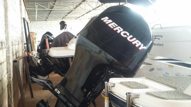 Focker 200 motor mercury 115hp 4T - Foto 2