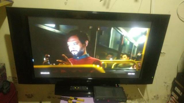 31d32d8c1 Tv de 42 de plasma - Áudio