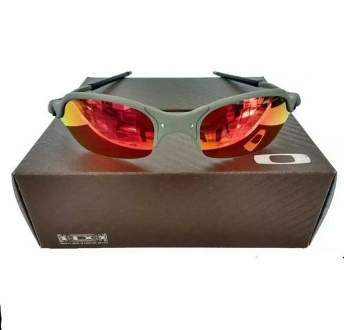b43e3f6f88 Óculos de sol Oakley Romeo 2 Xmetal Ruby Polarizado Novo Frete grátis