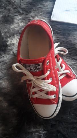 b6a3cc77a7e Salto alto - DIVALESI all star - CONVERSE - Roupas e calçados ...