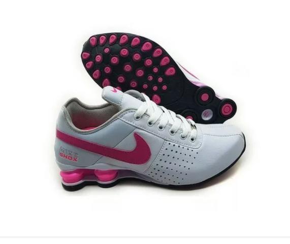 c7062cc4c73 Tênis Nike Shox Feminino branco rosa - Roupas e calçados - São ...