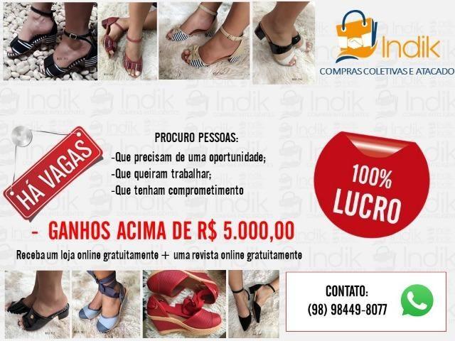 851ed27c2 Indik Compra Coletiva Atacado - Roupas e calçados - São José De ...