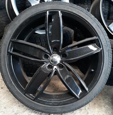 Rodas Aro 20 Modelo Audi A5 Com Pneus Novos