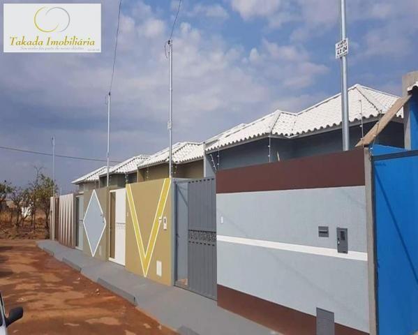 Casa à venda com 3 dormitórios em Chácaras do abreu, Formosa cod:CA00005