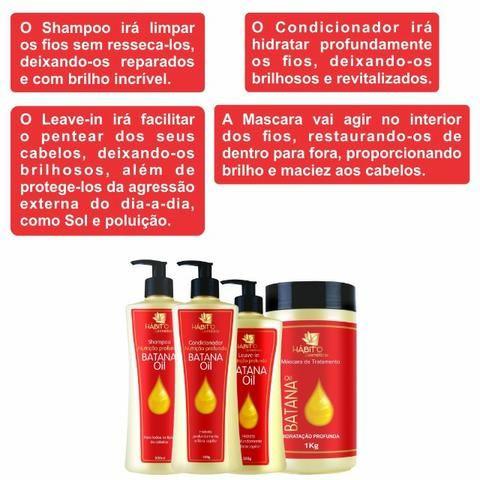 Nutrição Profunda Óleo de Ojon Batana Oil Bittes Cosméticos - Foto 2