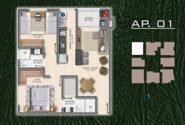 Apartamento, Ingleses do Rio Vermelho, Florianópolis-SC - Foto 10