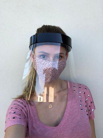 Máscaras de proteção acrílica tipo Face Shield - Foto 5