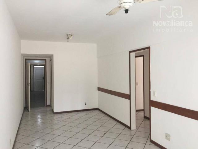 Apartamento com 3 quartos para alugar, 110 m² por R$ 1.200/mês - Praia da Costa - Vila Vel