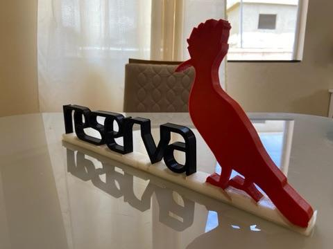 Logo Reserva Rígido 3D ideal para lojistas - Foto 6