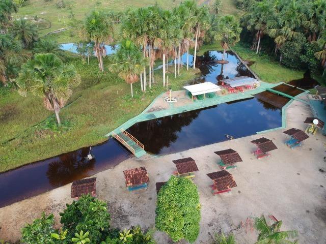 Balneário,Sítio com Restaurante funcionando BR 174 KM30 com 320.000 m² de área