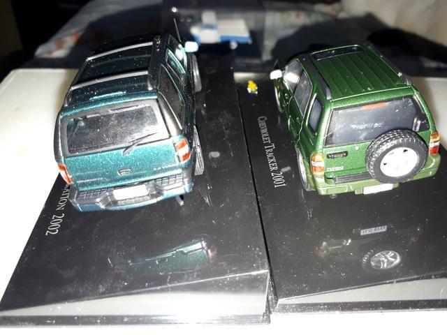 Kit 02 Miniatura Chevrolet Collecction Escala 1/43 Tracker/ Blazer - Foto 4