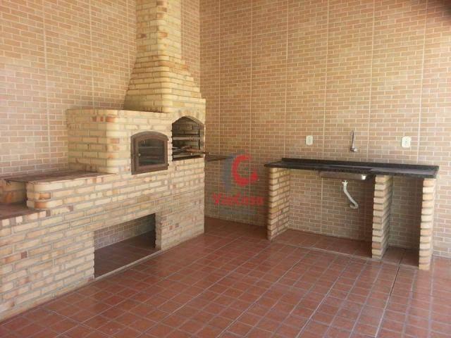 Casa duplex com ampla área externa 3 quartos com área gourmet no Village - Foto 3