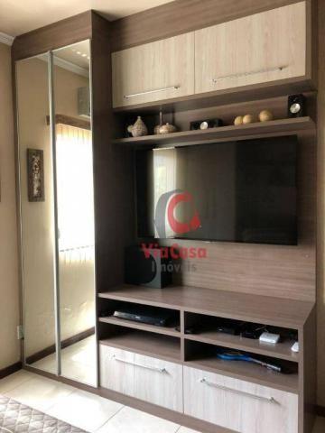 Apartamento com 4 dormitórios à venda, 124 m² por R$ 790.000,00 - Costazul - Rio das Ostra - Foto 3