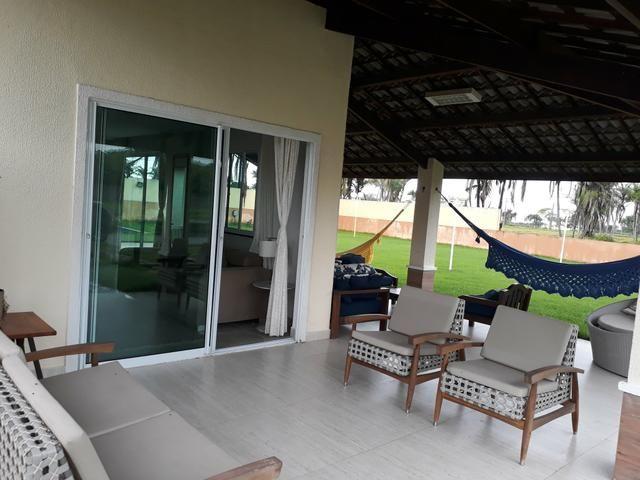 Duplex sendo 3suítes com piscina & deck em condomínio a 20minutos do centro de messejana - Foto 3