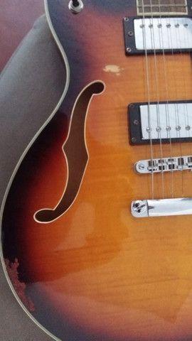 Guitarra Hofma Semi-Acustica - Foto 2