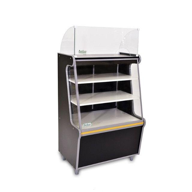 Balcão caixa Artlux preto ou branco 80cm Novo Frete Grátis