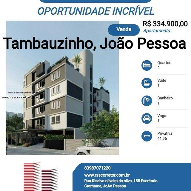 Apartamento para Venda em João Pessoa, Tambauzinho, 2 dormitórios, 1 suíte, 1 banheiro, 1