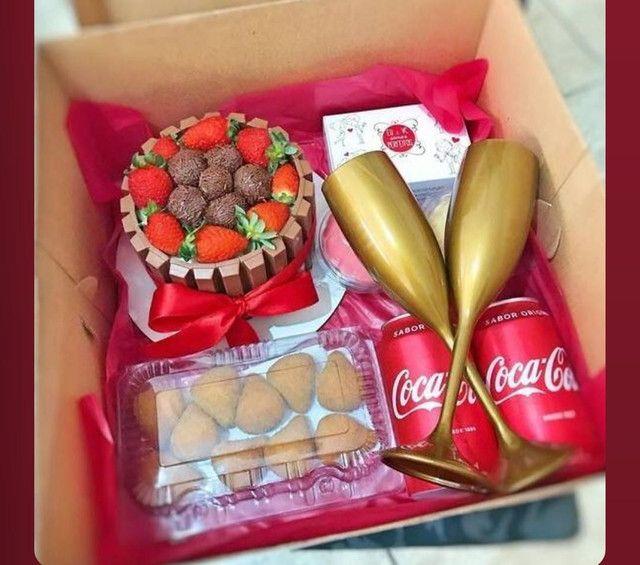 Festa na caixa, bolos e empadas - Foto 5
