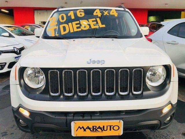 Jeep Renegade 2016 2.0 16v turbo diesel longitude 4p 4x4 automático - Foto 13