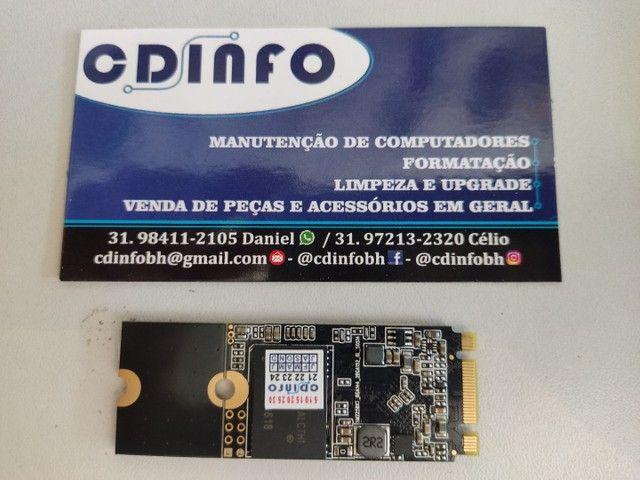 SSD M2 Sata 128gb half (Tam. Menor) - Foto 3