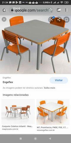 Conjunto Escolar Infantil ( novo)