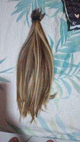 Vendo cabelo 80 gramas 35 centímetros  - Foto 2