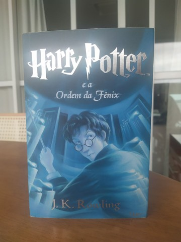 Livro Harry Potter e a Ordem da Fênix (livro 5)