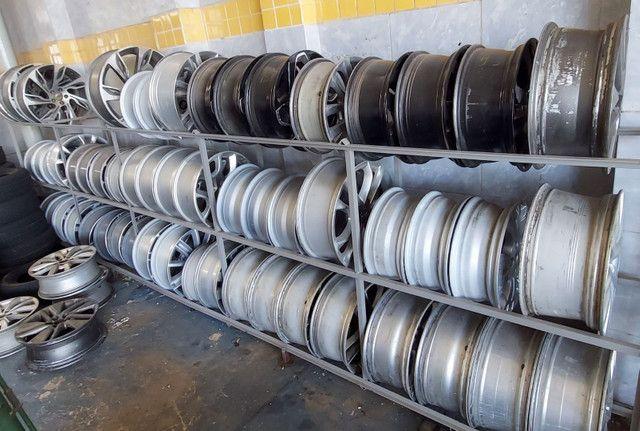 Rodas de alumínio usadas  - Foto 3