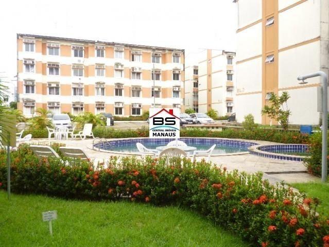 Apartamento 2 quartos, ar-condicionado, condomínio Espaço Verde, próximo colégio Denizard