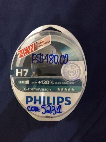 Lâmpada X-tremeVision Philips H7